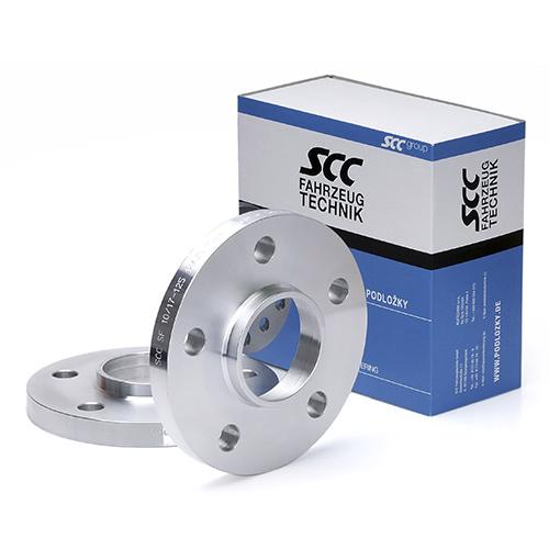 Rozšiřovací podložky 20mm 5/112-66,6 (SCC 12170) 2ks