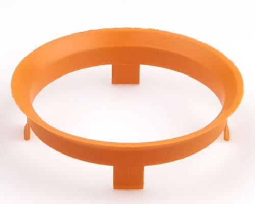 Kroužek vymezovací 60,1 / 58,1 (Z1370), plast, oranžový, přesah kužele 6mm