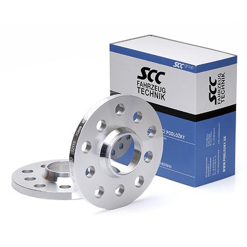 Rozšiřovací podložky 20mm 5/100*5/112-57,1 (SCC 12120) 2ks