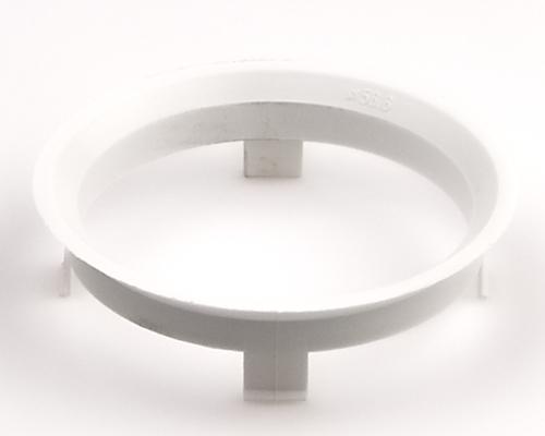 Kroužek vymezovací 60,1 / 56,6 (Z1358), plast, bílý, přesah kužele 6mm