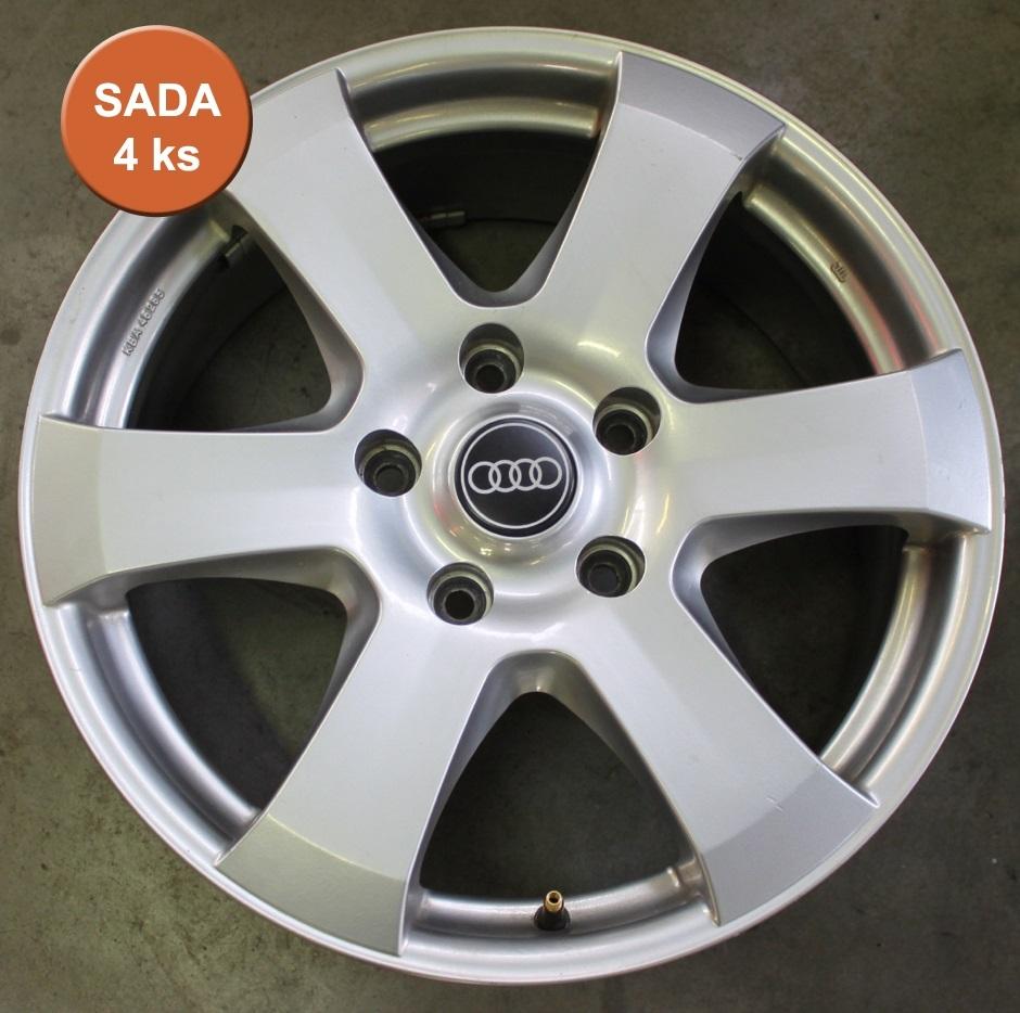 Bazar. disky 8,0x18 5/130 ET55 Autec Baltic, stříbrné, průměr 71,6