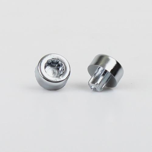 Šroub (IC01C), průměr hlavy 13,7mm, naklepávací do díry průměr 6mm, výška 13,1