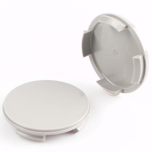 Krytka průměr 56/60mm(vnitřní,vnější) plast šedá bez loga (N06/ ZA1327) AEZ, Dezent, Enzo
