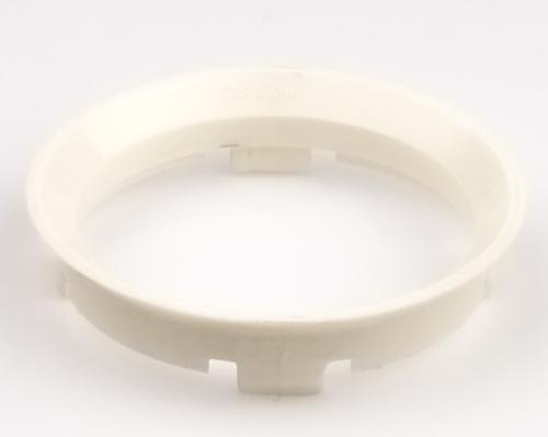 Kroužek vymezovací 63,3 / 58,2 (ADX6), plast, bílá, přesah kužele 7mm