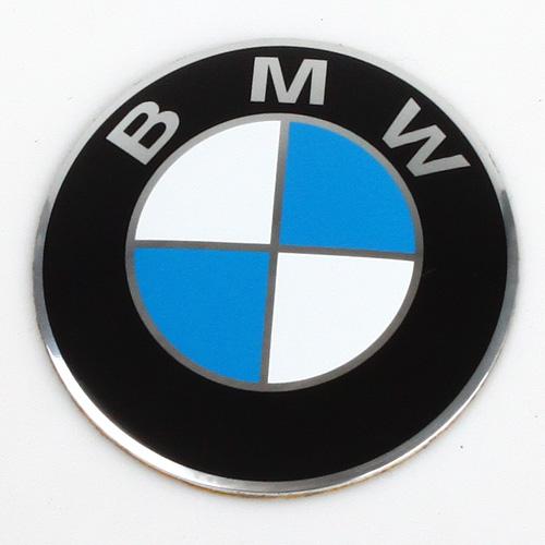 Logo (emblem) průměr 64,5mm BMW kovové na originální disky i aftermarket.