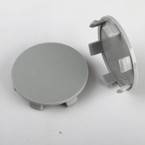 krytka průměr 56/60mm(vnitřní,vnější) bez loga, Brock, RC design, Platin (Z05K), úchyt 4mm