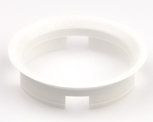Kroužek vymezovací 63,4 / 58,1 (Z09D), plast, bílý, přesah kužele 7mm