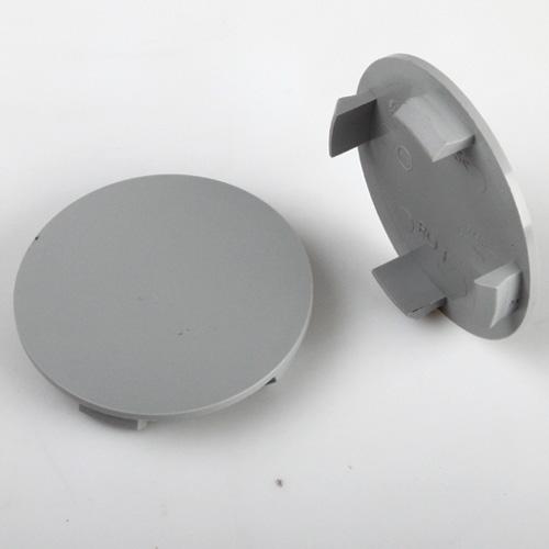 Krytka průměr 58/64mm(vnitřní,vnější) plast šedá bez loga Ronal (RO01), úchyt 4mm